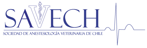 Sociedad de Anestesiología Veterinaria de Chile Logo